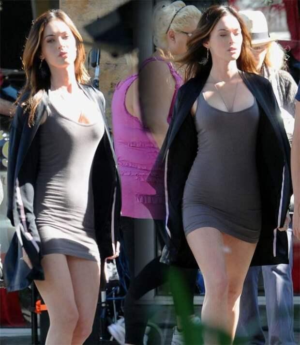 Стройные девушки в модных платьях (48 фото)
