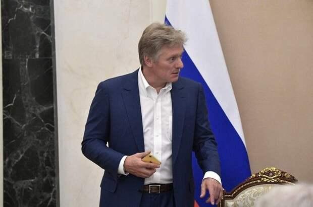 Песков: Белоруссия следовала международным правилам в инциденте с самолетом