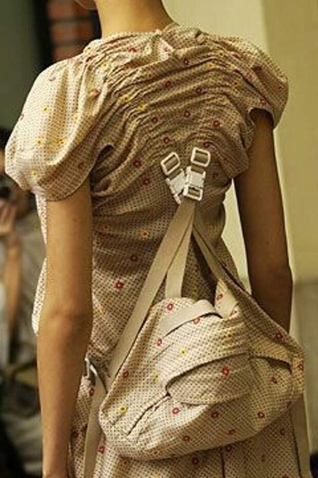 Цельнокроеные рюкзаки (подборка)