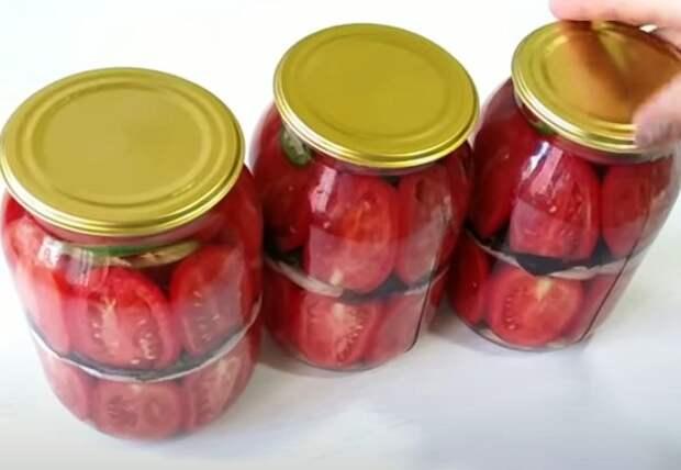 За 10 минут ароматные помидоры на зиму. Без стерилизации и рассола