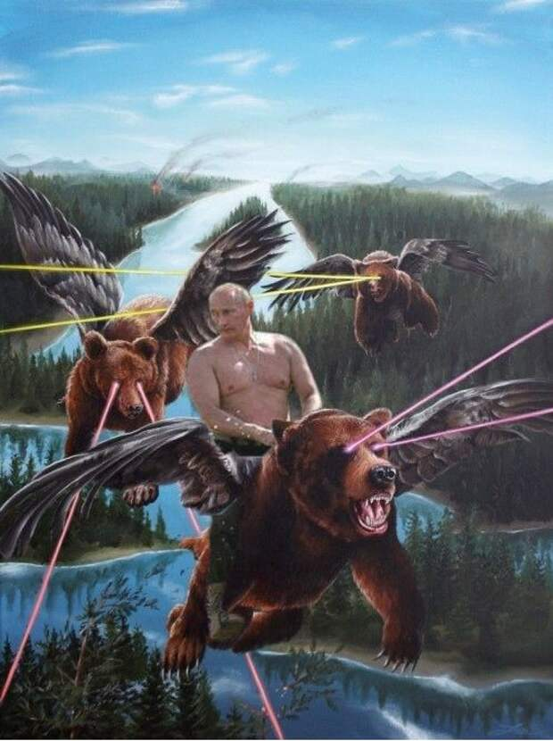 УкроСМИ: Путин применил против Украины лазерное оружие!