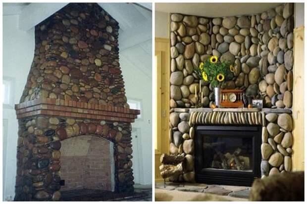 И конечно же камины. Потрясающе! Фабрика идей, дизайн, дом, интерьер, камни, красота
