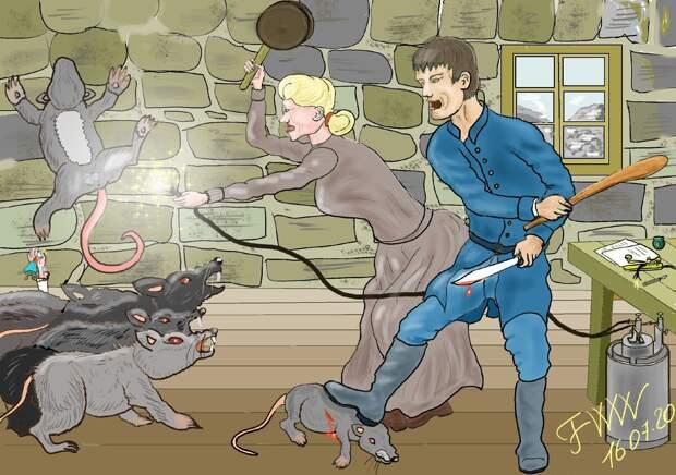 Крысиная битва на Пайкс-Пик. Простая история про Дикий Запад