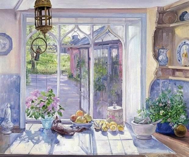 Художник Timothy Easton. Красота английского сада