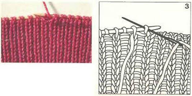 Вязание спицами для начинающих. Закрепление петель. Видео.