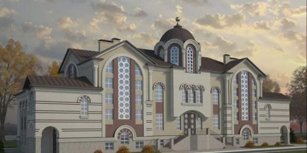 В храме на Коптевском бульваре завершился монтаж киотов
