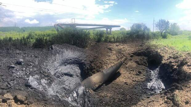 Аваков таки черт. На Прикарпатье взорвался газопровод.