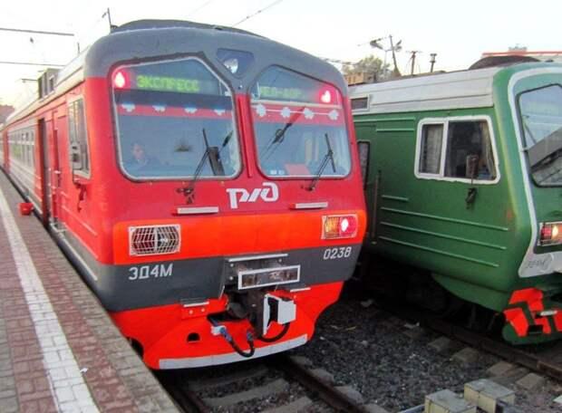 Билеты на электрички до Казанского вокзала временно подешевели