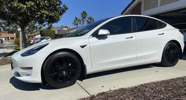 Орбитальные колесные колпаки Tesla Model 3: стильное и доступное обновление