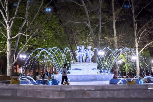Волноваться о воде не стоит: в Севастополе запустили все фонтаны