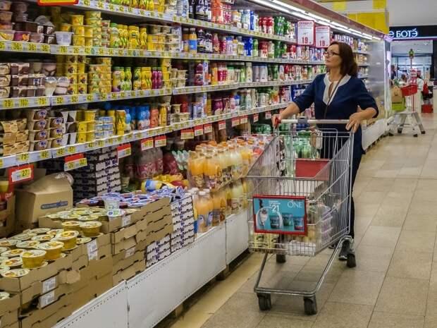 Рост цен на продукты в РФ посчитали ниже среднемирового