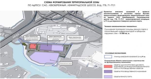 Проект переноса Северного речного порта стал доступен для обсуждений