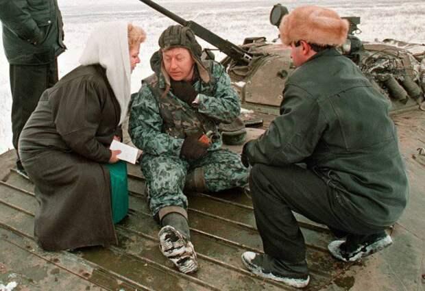 Первая Чеченская война в фотографиях Александра Неменова