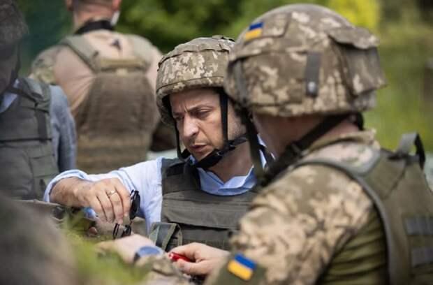 Кремль назвал условие разрешения Зеленским кризиса в Донбассе
