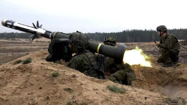 ВСУ впервые применили наДонбассе ракетные комплексы производства США