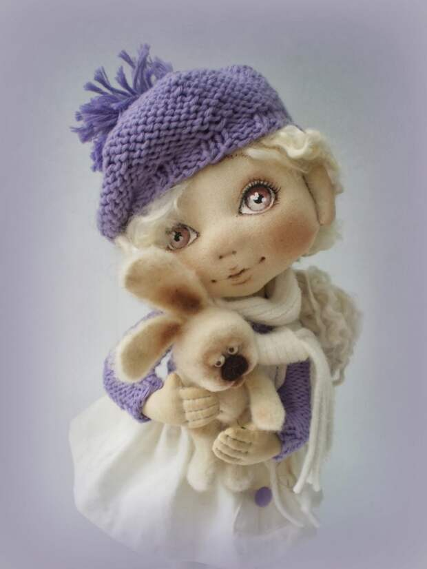 Куколки Ирины Хочиной. Мини МК