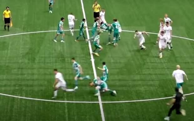 «Ахмат» наказал футболистов, участвовавших в массовой драке в матче молодежного первенства