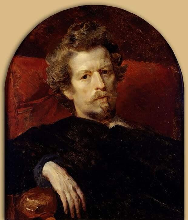 Автопортрет (1848). Москва, Государственная Третьяковская галерея