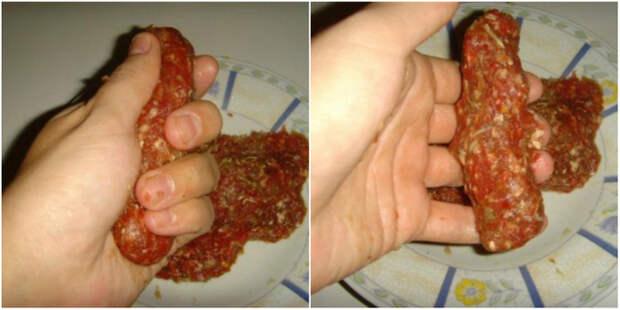 """Готовим домашние колбаски """"Чевапчичи"""""""