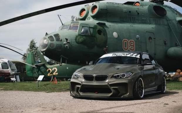 Латыши знают толк: BMW 2-й серии превратился в… истребитель