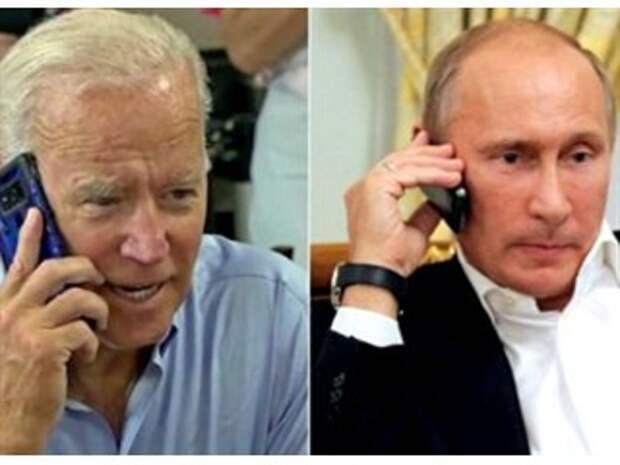 Байден и Путин решают судьбу Украины за спиной Зеленского