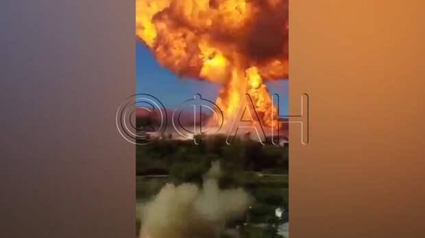 Стала известна причина взрыва на АЗС в Новосибирске