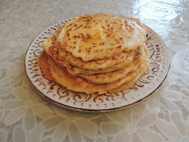 Лепёшки с сыром еда, своими руками, сделай сам