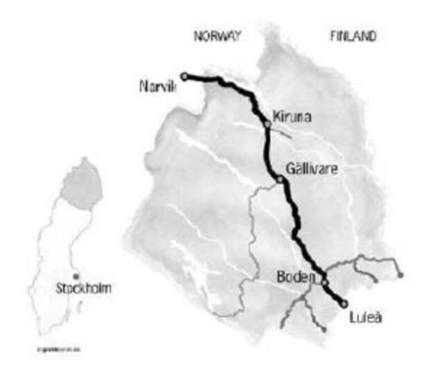Шведская торговля с Германией: руда, уголь и тюльпаны