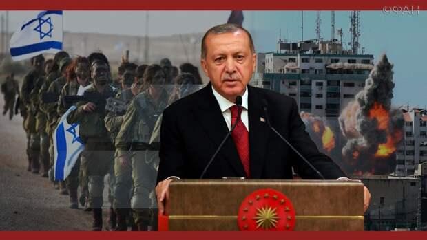 Какие цели преследует Турция в палестино-израильском конфликте