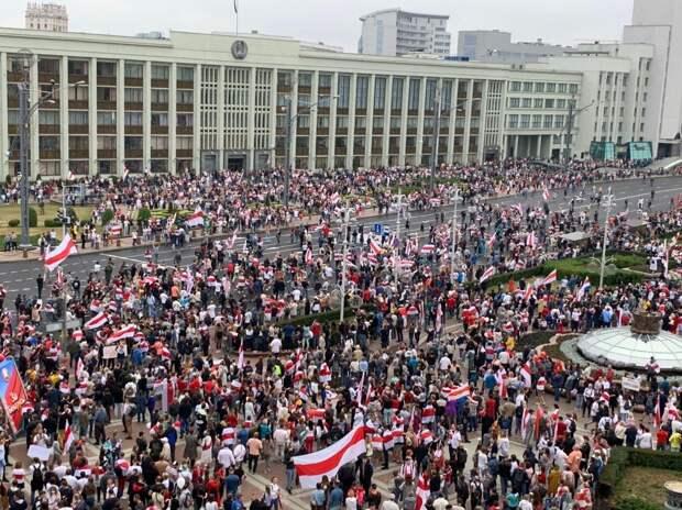 В КГБ Белоруссии заявили о подготовке провокаций протестующими
