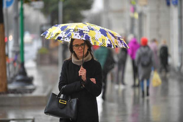 Неустойчивая погода и заморозки ожидаются в Москве в выходные
