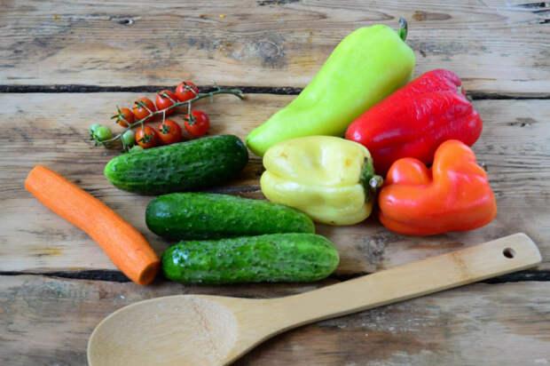 Овощи для нарезки. \ Фото: google.com.