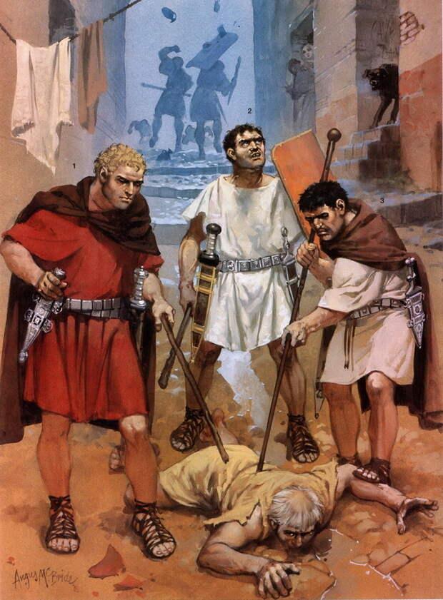 Кровавые сражения на улицах Рима стали привычным явлением в последнее столетие Римской республики - Последний диктатор республиканской эпохи   Военно-исторический портал Warspot.ru