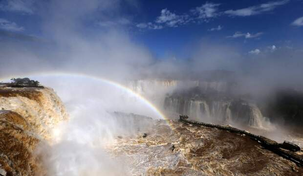 Iguazu 7 Захватывающие дух водопады Игуасу