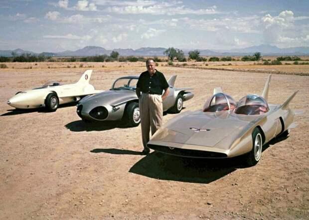 General Motors Firebird I, II и III авто, автодизайн, концепт