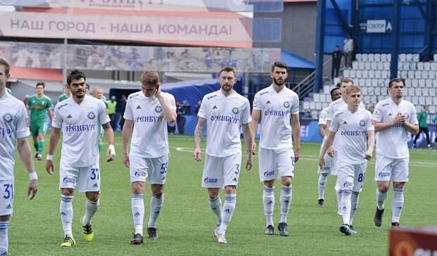 Два игрока «Оренбурга» стали лауреатами сезона ФНЛ