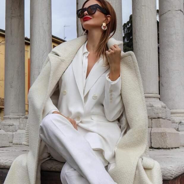 Деловой стиль зимы 2021 для женщин 40-50 лет: 16 элегантных образов