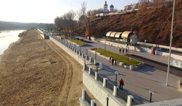 В мэрии Оренбурга рассказали о благоустройстве восточной части набережной Урала