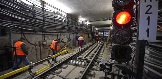Участок салатовой ветки метро открывают досрочно