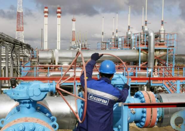 """Доходы """"Газпрома"""" от экспорта газа в январе-марте выросли на 32,2% - до $9,59 млрд - ФТС"""