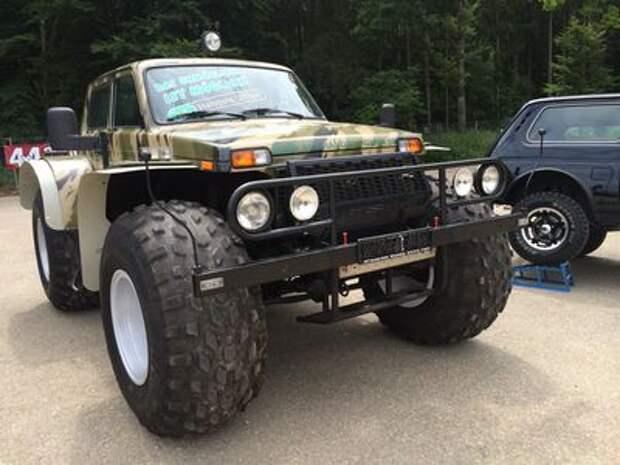 Фанаты Lada 4x4 собрались в Германии