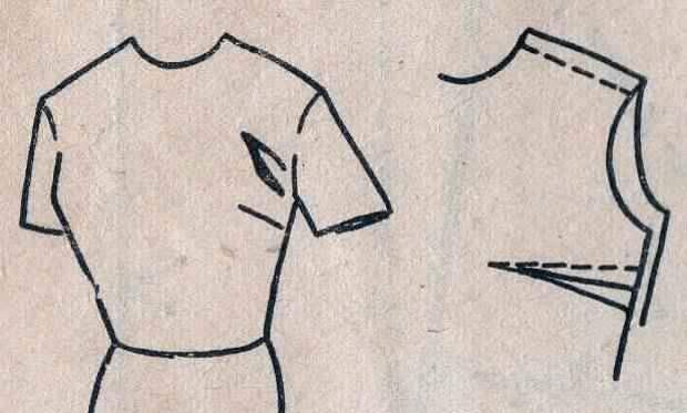 Швейные секреты: как убрать заломы в области проймы!