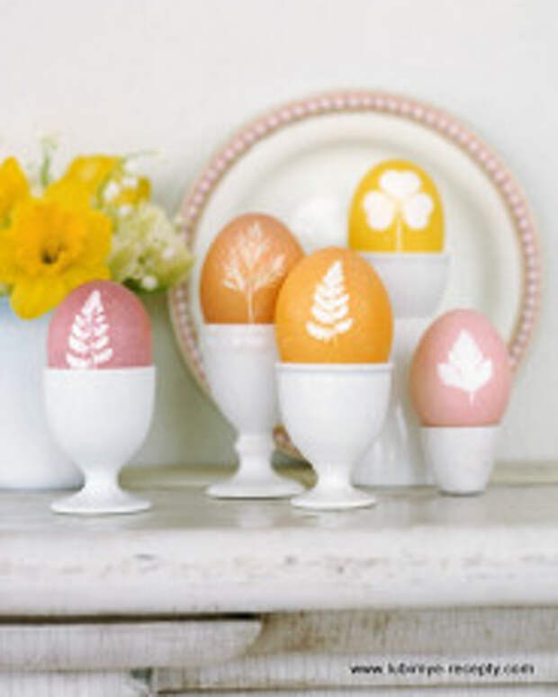 Идеи окрашивания, изготовления и украшения пасхальных яиц