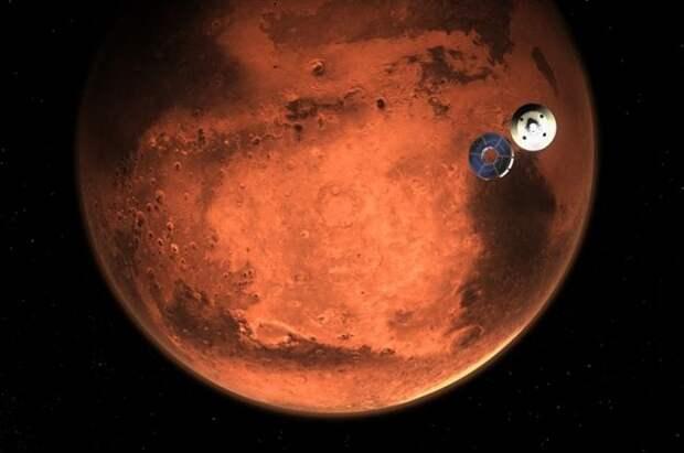 Из атмосферы Марса впервые удалось выделить кислород