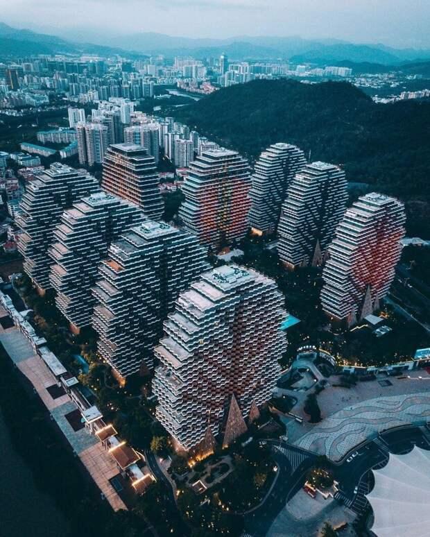 Гостиничный комплекс в городе Санья, Хайнань, Китай