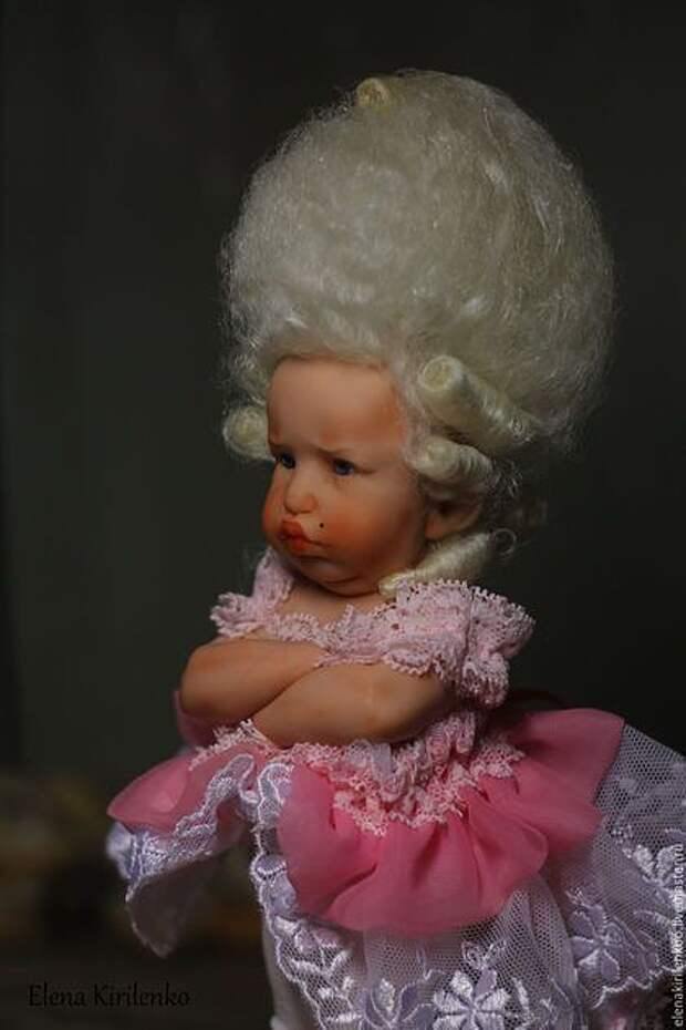 Удивительные и неповторимые куклы получаются у мастера Елены Кириленко.