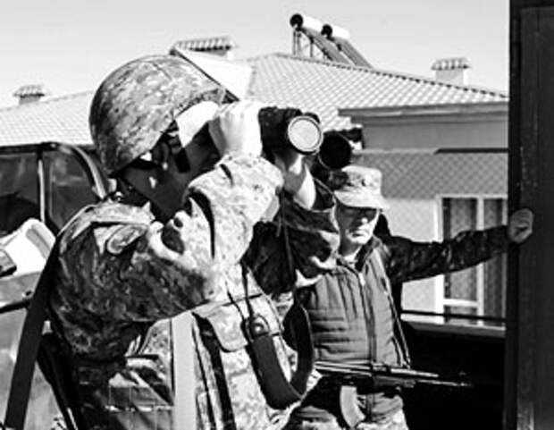 Азербайджанским войскам остается только рассматривать издалека стратегические цели, которые они наметили на территории НКР
