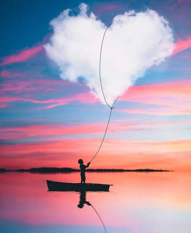 Красивые и яркие фотографии с картинками для позитива