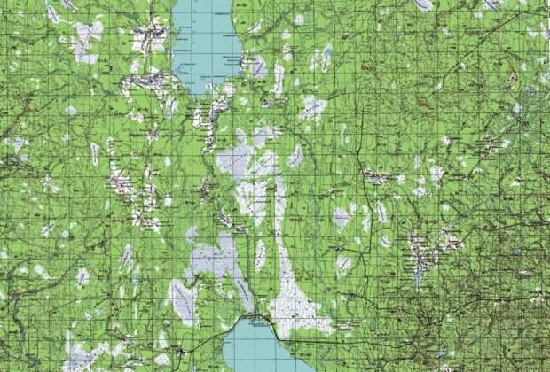 Что такое топографический план и карта?
