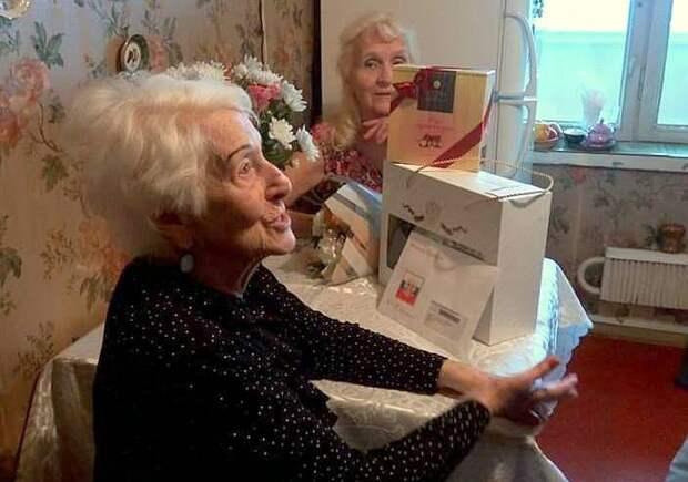 Сто лет бабушки Люды